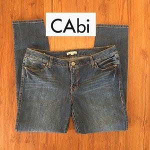 CAbi Heritage wash skinny jean #918 size 16 (Plus)